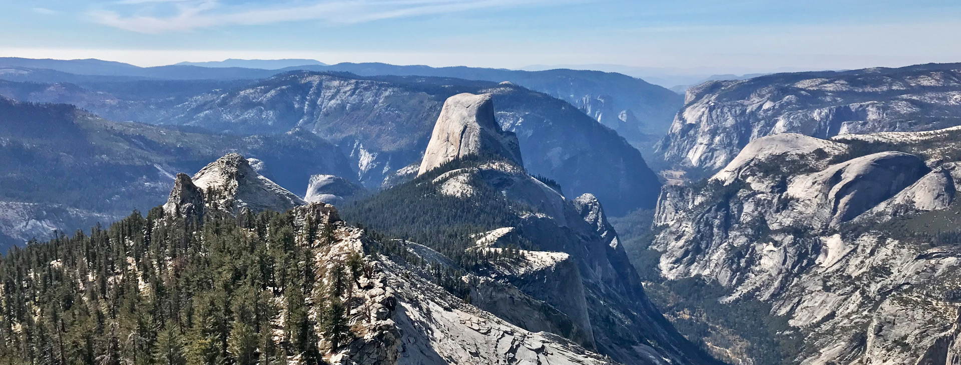 TCBC - View from Clouds Rest, Yosemite National Park
